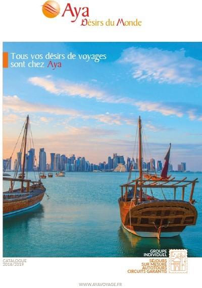 Aya - Désirs du Monde - 2018/2019 - Tous vos désirs de voyages sont chez Aya