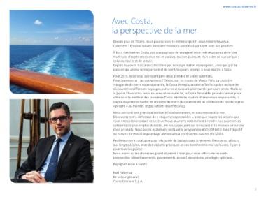Benvenuti alla felicità 2 - 2018 - 2019 - Croisières Novembre 2018 - Avril 2020