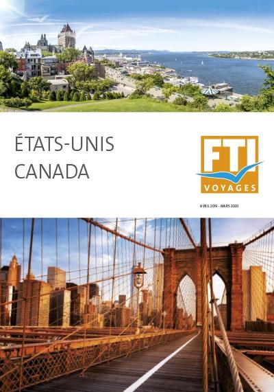 FTI Voyages - 2019/2020 - Etats-Unis - Canada