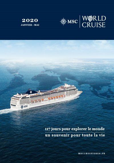 WORLD CRUISE - 2020 - 117 jours pour explorer le monde