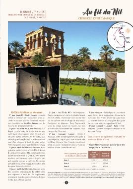 Terres de Charme et Îles du Monde - 2018 - Collection Egypte