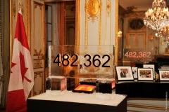 Canada : 482 362 visiteurs