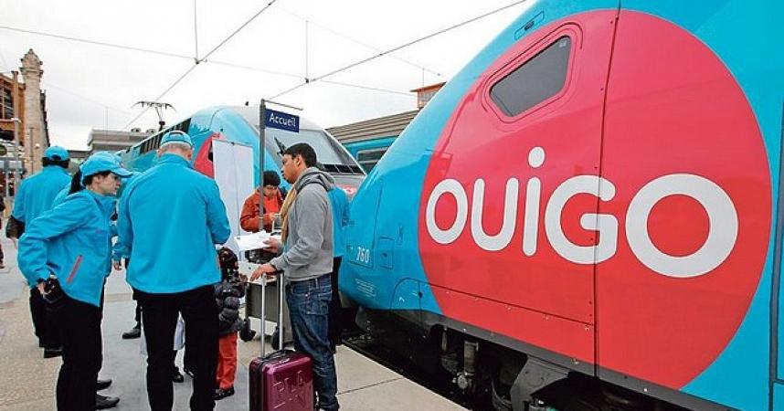 Premières rotations réussies entre Nice et Paris pour le Ouigo