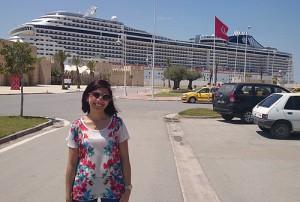tunis-port de la Goulette-croisieres-paquebot-Maha Ben Slimane