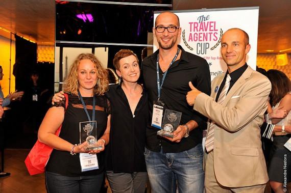 Catherine Leroy a remporté la Travel Agents Cup à Top Résa