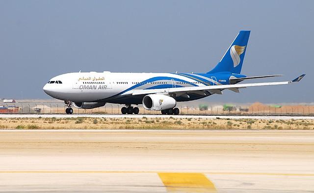 Oman air-A330 in MCT