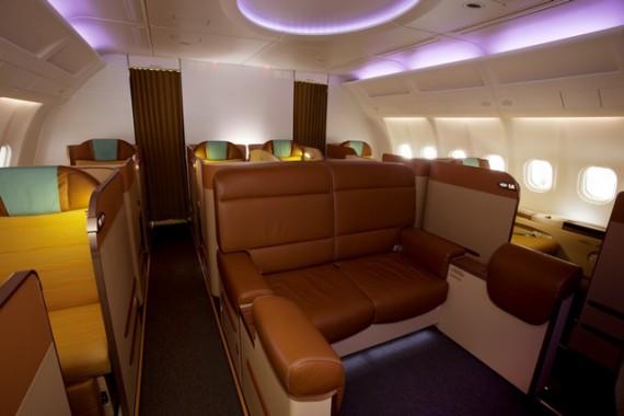 Oman Air voit l'avenir en grand