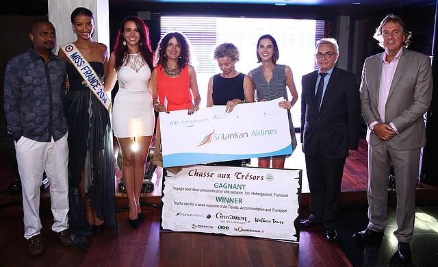 Chasse aux tresors 2014, Sri Lanka, SriLankan Airlines, hotels Cinnamon, Walkers Tours, Dileep Mudadeniya, Danny Sheepers, Miss France, Polonnaruva,