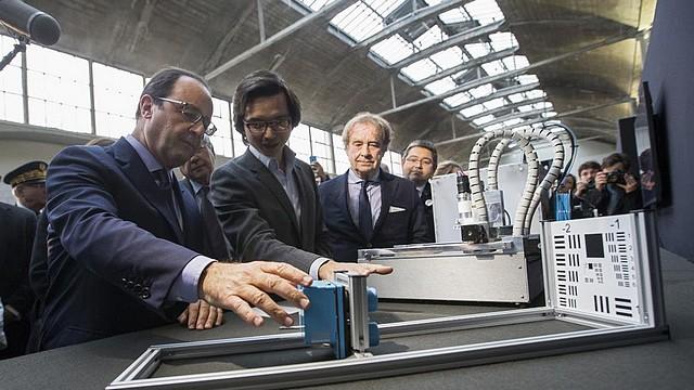 Paris lance en grande pompe son incubateur numérique