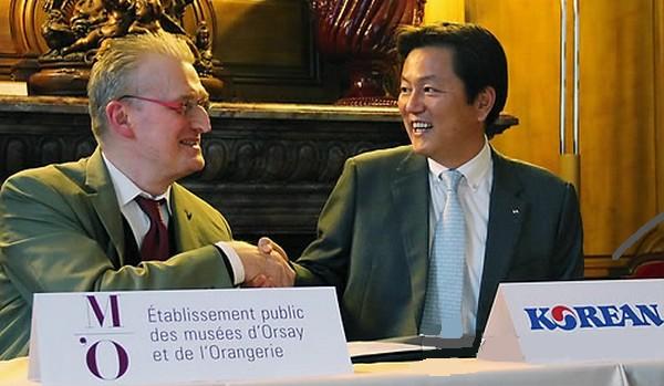 Korean Air à l'écoute du Musée d'Orsay