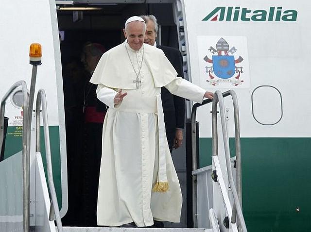 alitalia-pape francois-strasbourg-parlement europeen