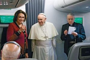 voyage papal alitalia