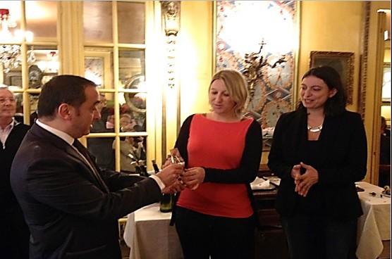 Emmanuel Toromanof, Aude Parlebas, Sarah Lopez, Michel Messager, AFST2