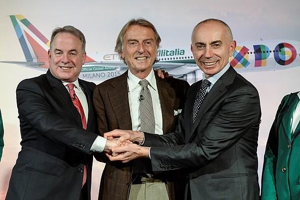 Alitalia Luca di Montezemolo, Silvano Cassano, James Hogan