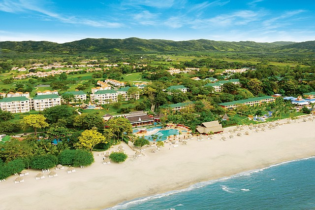 Decameron Beach Aerial 2