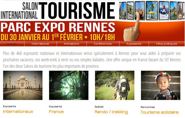 Rennes ouvre son salon for Salon international du tourisme rennes