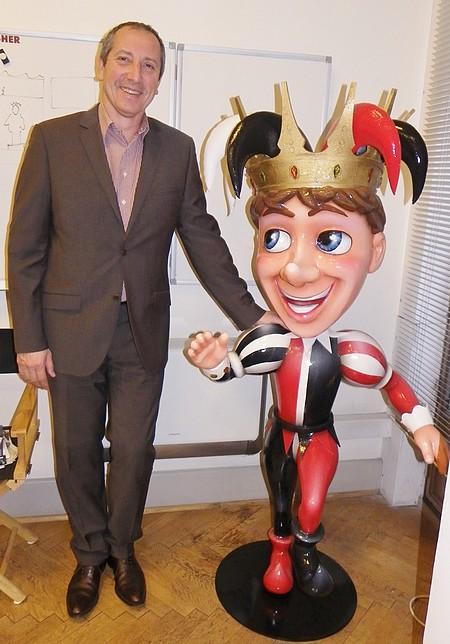 Carnaval Nice 2015-denis zanon et le  mascotte