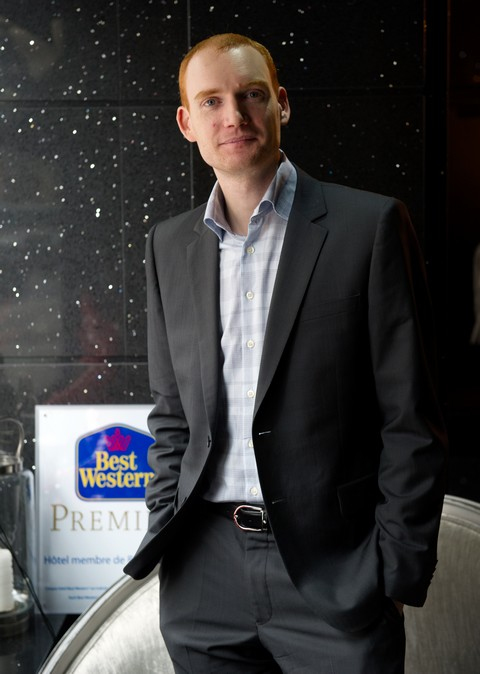 Portrait Olivier COHN, Directeur general de Best Western France