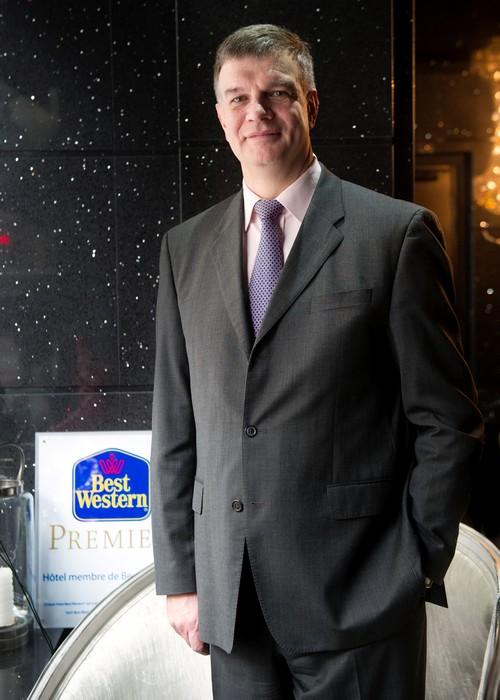 Portrait Pierre SALLES, President de Best Western France