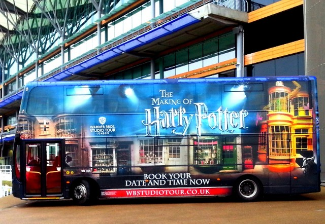 Explore GB, bus harry potter-visit britain-office de tourisme de grande bretagne-angleterre-