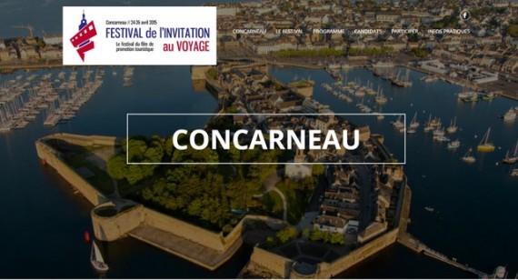 Le 1er Festival du film de promotion touristique à Concarneau (Finistère)