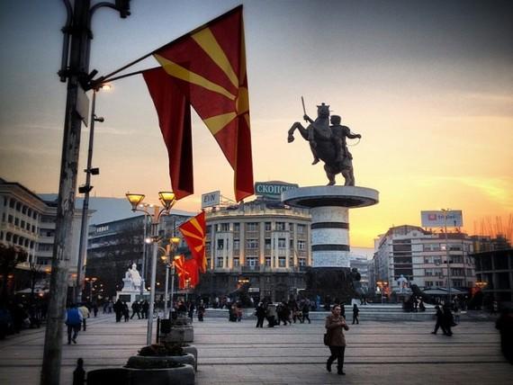 La Macédoine prend bien, sur le marché Français