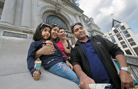 Les touristes de l' Inde plébiscitent la France