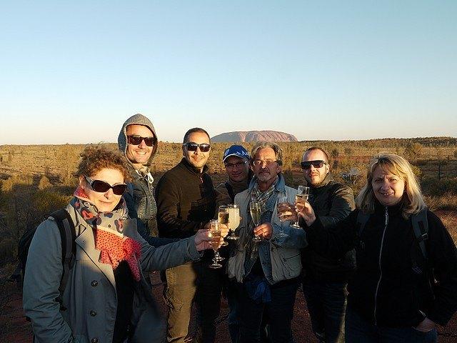 Asia-defi Australie-ayers rock-apero