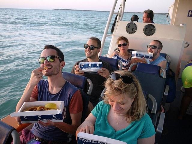 australie-Croisière dans la baie de Darwin et Fish&Chips
