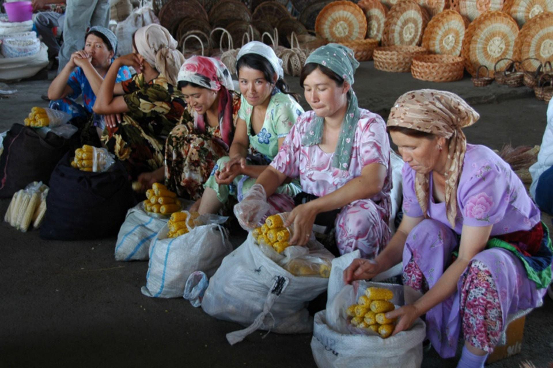 Les grands sofas d'Asie centrale: Samarcande