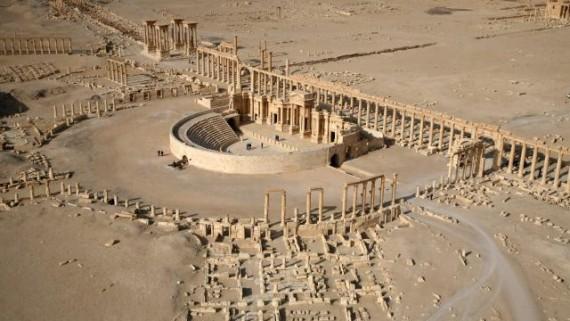 Palmyre en Syrie n'est pas encore sauvée