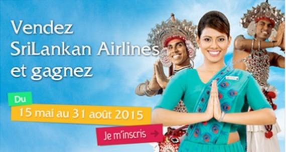 Srilankan Airlines lance son challenge de ventes