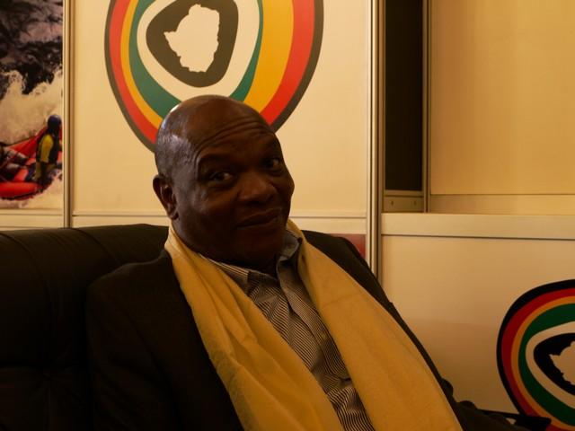 Karikoga Kaseke, directeur de l'office du tourisme du Zimbabwe ZTA