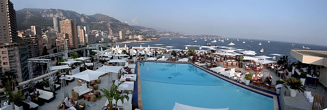 Nikki Beach has arrived at Fairmont Monte Carlo  - at day