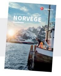 brochure hurtigruten -express coitier-norvège
