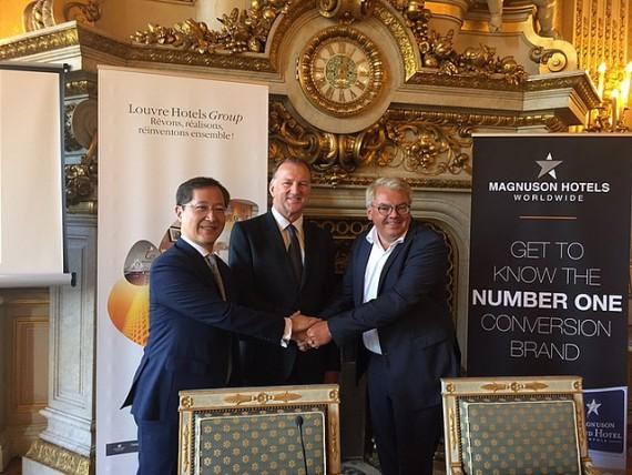 Louvre Hotels, un chinois avec l'accent américain
