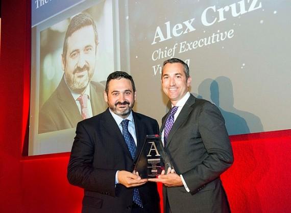 Vueling et son PDG, Alex Cruz, honorés à Londres