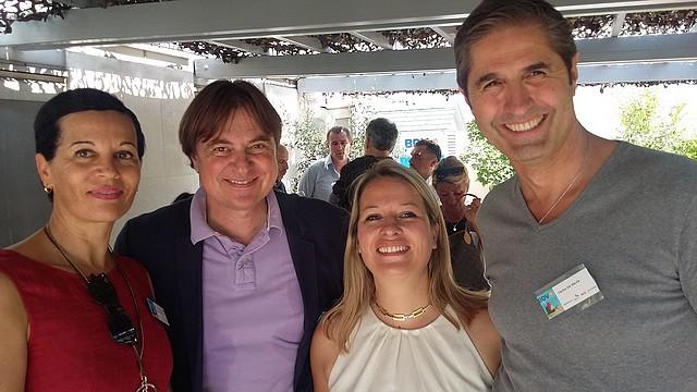 BDV-Terrasse Party-Emmanuelle Liop-carlos da silva-thierry maillet-
