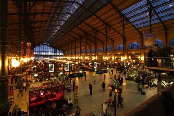 La Gare du Nord se transforme en discothèque