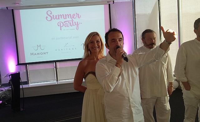 Jet Tours-Nicolas Delord-Louisa rouar-Summer party-2015