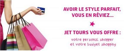 jet tours-personnal shopper