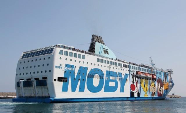 corsica ferries moby lines une bataille corse excellente pour le port de nice. Black Bedroom Furniture Sets. Home Design Ideas
