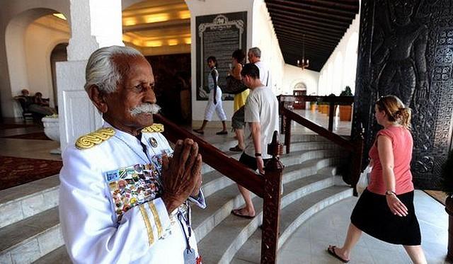 galle face hotel KC portier celebre au sri lanka