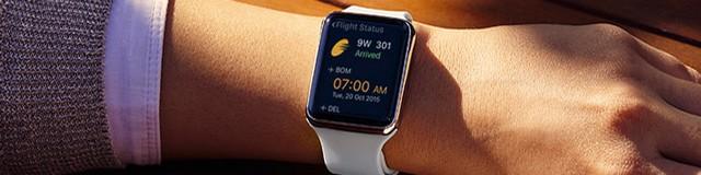 jet airways-apple watch