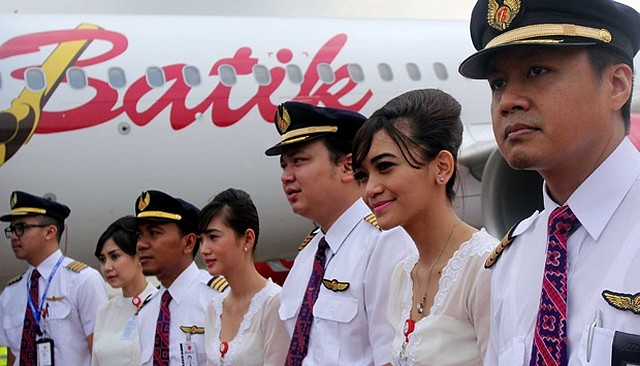 indonesie pilotes
