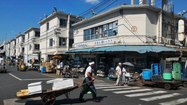 marche-poisson-marché de Tsukiji-tokyo