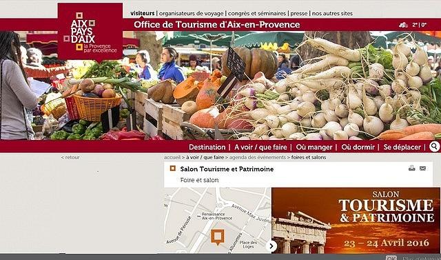 Aix en provence fait son salon du tourisme en avril prochain for Salon du tourisme en france