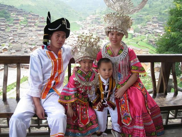 Zhangjiajie-miao ethnie chinoise