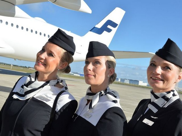 finnair hotesses de l'air