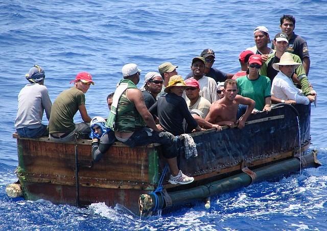 migrants cubains